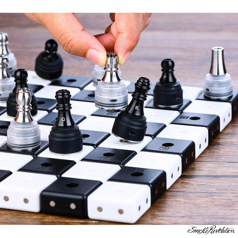 Kizoku drip tip 510 design scacchi